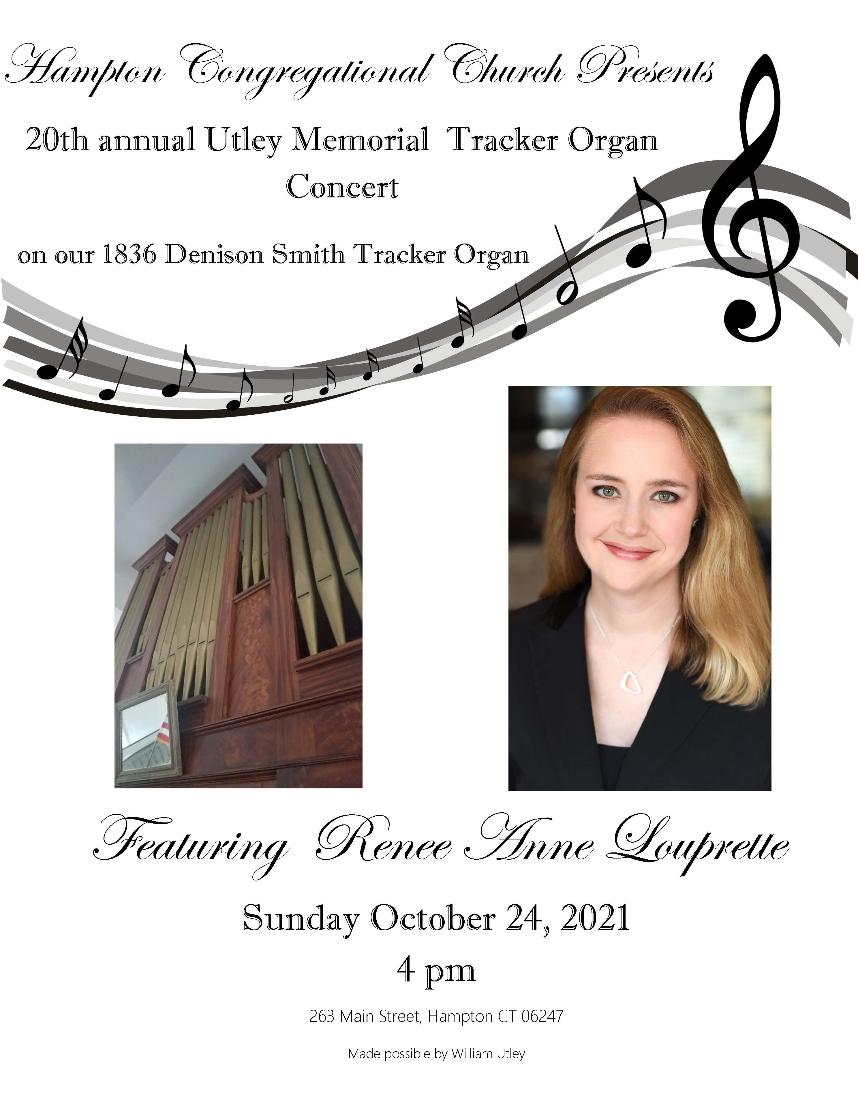 Tracker Organ Poster 2021